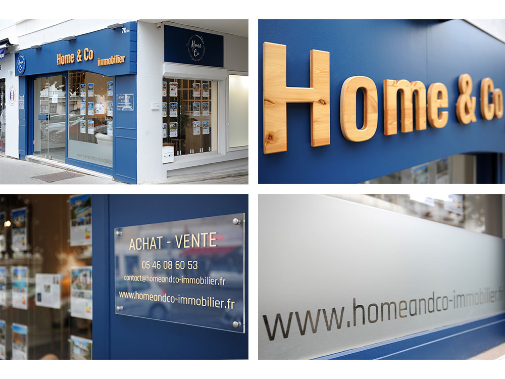 Home & Co immobilier